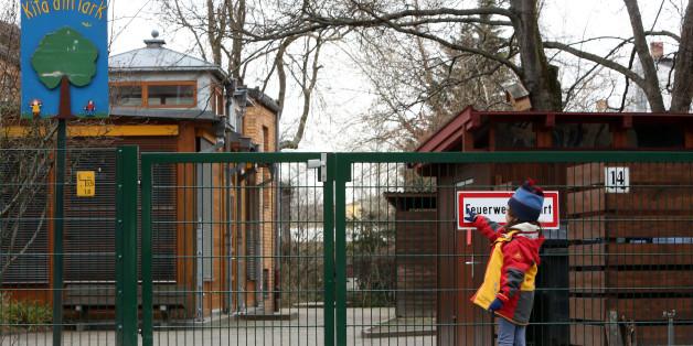 Darmstadt: Ein Kind geht mit Bombe in den Kindergarten