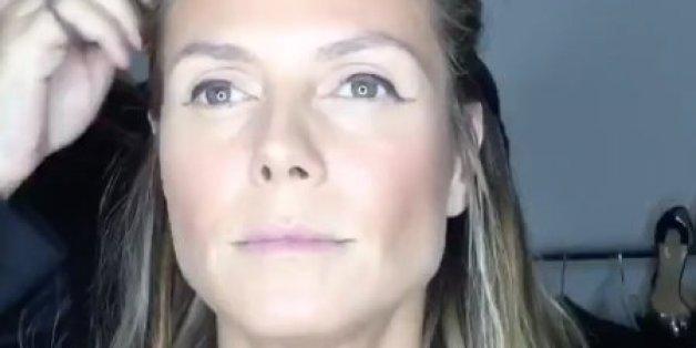 """""""Extrem gruselig"""": Heidi Klum für 35,84 Sekunden in die Maske - den Fans gefällt überhaupt nicht, was sie sehen"""