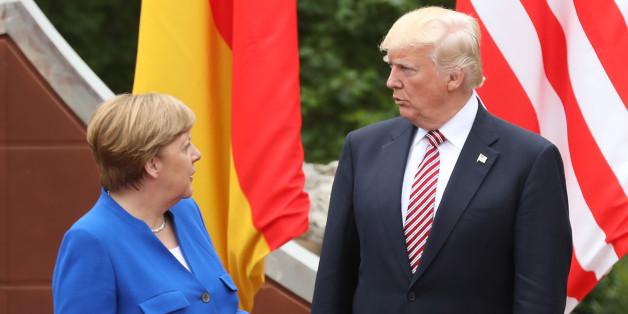 Merkel und Trump werden sich im Vorfeld des G20-Gipfels treffen.