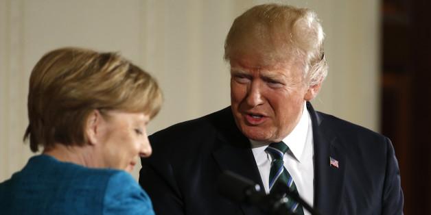 Kleine Hände, große Pläne? Trump bereitet Merkel Sorgen