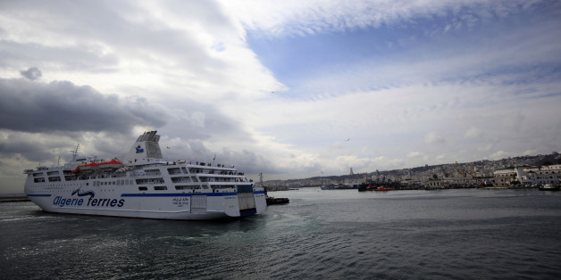 Boat passenger Tarik Ibn Ziad arrival at the port of Algiers, Algeria from the port of Marseille, France, on April 24, 2016. It is the country's principal maritime facility for general cargo and passengers   The transport network is central to realising Algeria's economic growth potential. (Photo by Billal Bensalem/NurPhoto via Getty Images)