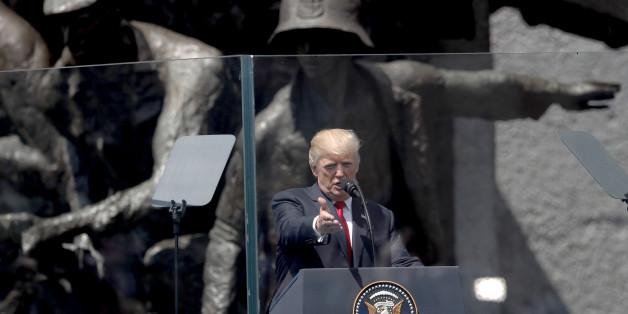 Trump sprach über Geschichte