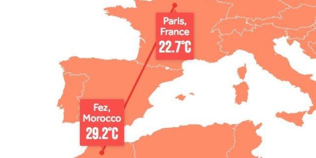 En 2100, il fera aussi chaud à Paris qu'à Fès aujourd'hui