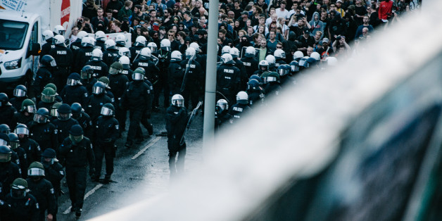 Brennende Autos, Gasgranaten, Wasserwerfer: Wie die Anti-G20-Demo in der Hölle von Hamburg endete