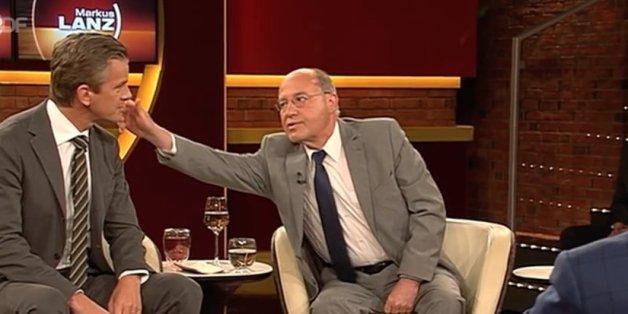 Lanz fragt Gysi, wie er an Angela Merkels Stelle mit Trump, Putin und Erdogan umgehen würde