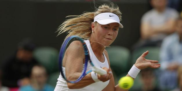 Carina Witthöft ist am Freitag die einzige gesetzte Spielerin in Wimbledon