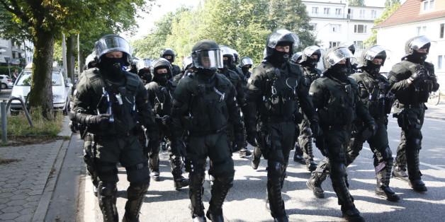 G20-Proteste: Hamburger Polizei ruft nach Verstärkung - und fürchtet einen Angriff auf Berlin