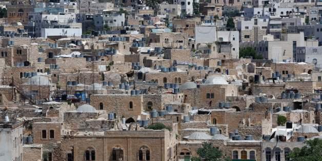 La vieille ville d'El Khalil en Cisjordanie occupée, le 29 juin 2017.