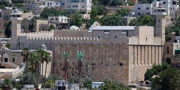 A picture taken on June 29, 2017 shows a view of the Cave of the Patriarchs, also known as the Ibrahimi Mosque, which is a holy shrine for Jews and Muslims, in the heart of the divided city of Hebron in the southern West Bank.On July 7, 2017 UNESCO declared in a secret ballot the Old City of Hebron in the occupied West Bank a protected heritage site.Hebron is home to more than 200,000 Palestinians, and a few hundred Israeli settlers who live in a heavily fortified enclave near the site known to