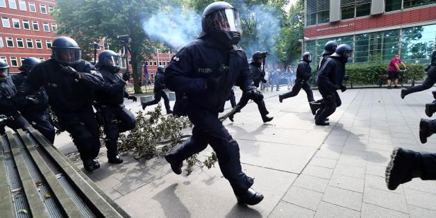 Die Krawalle sind das dominierende Thema rund um den G20-Gipfel