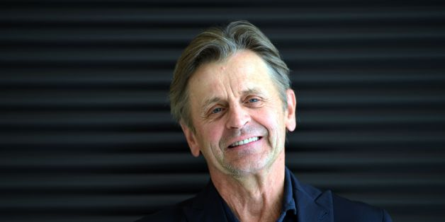 World-famous Latvian-born, Russian and US dancer, choreographer and actor Mikhail Baryshnikov smiles as he poses before a press conference during the presentation of the 'Letter to a man' at the Teatre Nacional de Catalunya, in Barcelona on June 27, 2017. / AFP PHOTO / LLUIS GENE        (Photo credit should read LLUIS GENE/AFP/Getty Images)