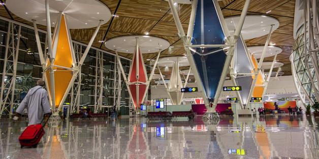 Le nouveau terminal de l'aéroport de Marrakech
