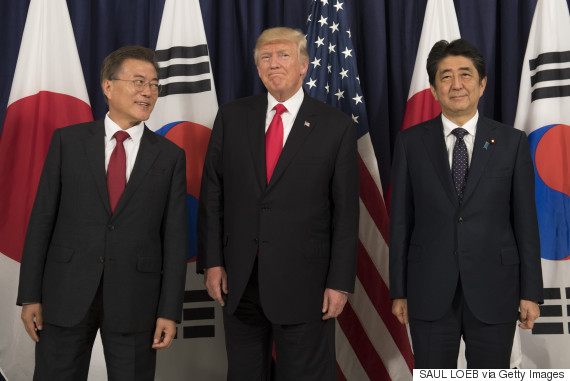moon jae in abe trump