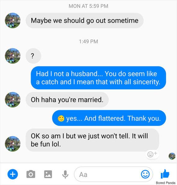 Ο άντρας μου βγαίνει με μια παντρεμένη γυναίκα.