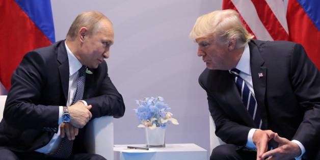 Wladimir Putin streitet eine Manipulation der US-Wahlen ab - für Donald Trump ist das gut genug