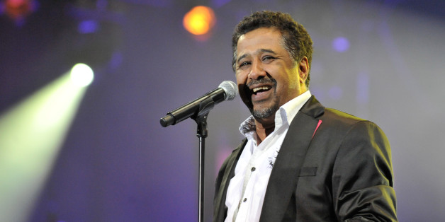 Algerian singer Cheb khaled performs during the 11th edition of the Mawazine International Music festival 'World Rhythms' in Rabat on May 22 , 2012.    AFP PHOTO / FADEL SENNA        (Photo credit should read FADEL SENNA/AFP/GettyImages)
