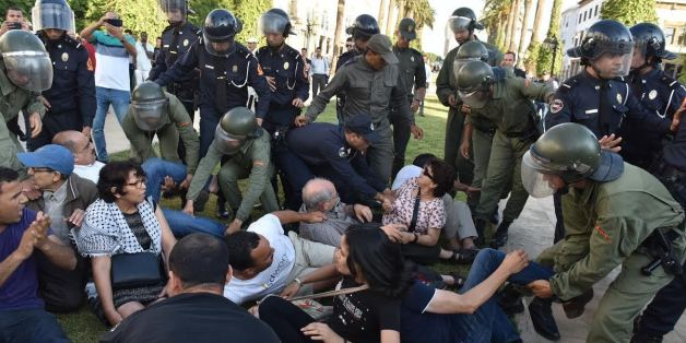 RSF a dénonce l'agression d'un journaliste en marge de la manifestation de Rabat