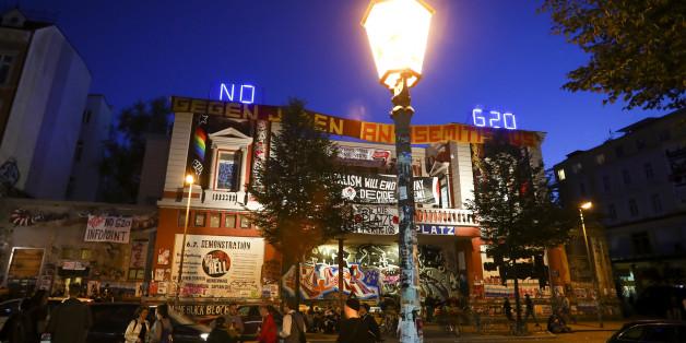"""Die """"Rote Flora"""" in Hamburg gilt als Treffpunkt der linksextremen Szene."""