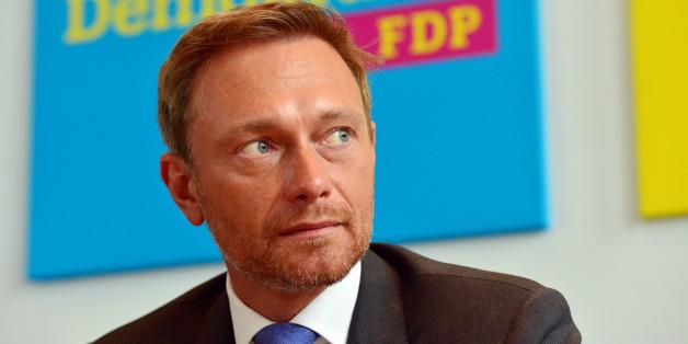 So machen sich die Grünen über die neuen Plakate des FDP-Chefs Lindner lustig