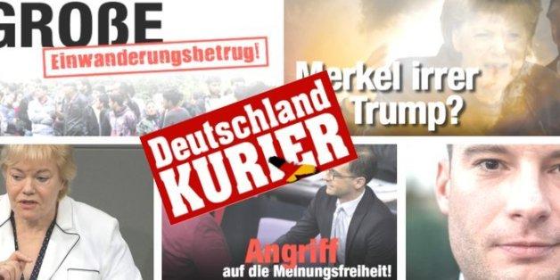 """""""Die 'Bild' für Wutbürger"""": 7 Fakten über die AfD-nahe Hasspostille """"Deutschland Kurier"""""""