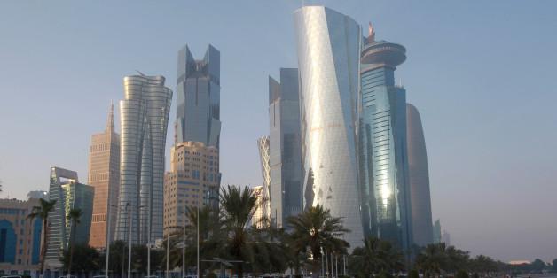 Doha, die Hauptstadt Katars