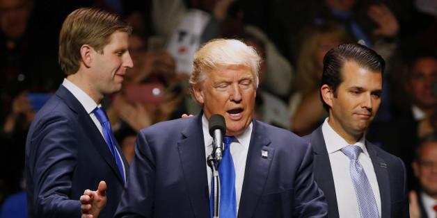 Trumps Sohn heizt die Russland-Affäre weiter an - und wird dem US-Präsidenten gefährlich