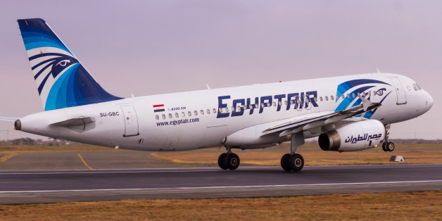 Nairobi, Kenya – September 11, 2015: An EgyptAir Airbus A320 rotates off the runway at Jomo Kenyatta International Airport