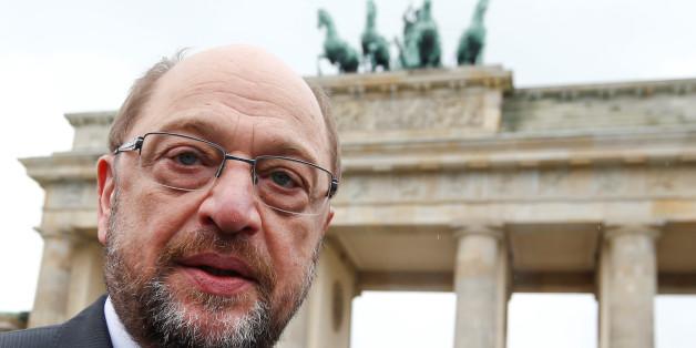 Martin Schulz ist weniger beliebt als Angela Merkel.