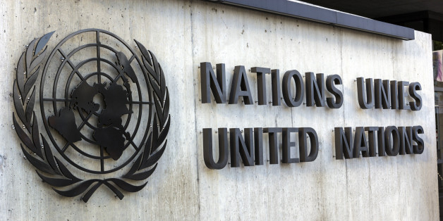 Geneva, Geneva Canton, Switzerland - August 10, 2015: United Nations Office at Geneva in Switzerland.