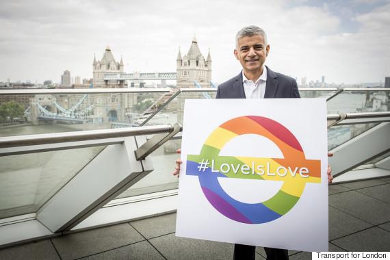 london tube gay