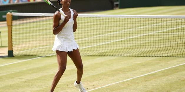 Venus Williams ist die älteste Wimbledon-Finalistin seit Jahrzehnten