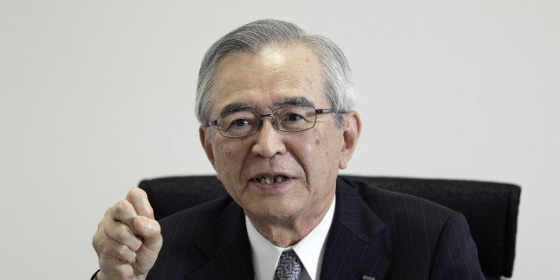 Takashi Kawamura, chairman of Tokyo Electric Power Co. Holdings Inc. (Tepco), speaks during a group interview at the company's headquarters in Tokyo, Japan, on Thursday, July 13, 2017. Kawamura said Tokyo Electric, operator of the wrecked Fukushima nuclear facility, aims for its nuclear operations business to become independently profitable as it expects some of its remaining 11 operable atomic units are still economically viable. Photographer: Kiyoshi Ota/Bloomberg via Getty Images