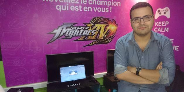 Khalid Naili va tenter de remporter le titre de champion du monde pour le jeu The King of Fighters XIV