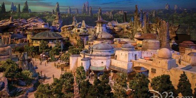 Disney dévoile les premières maquettes de Star Wars Land, censées s'inspirer du Maroc