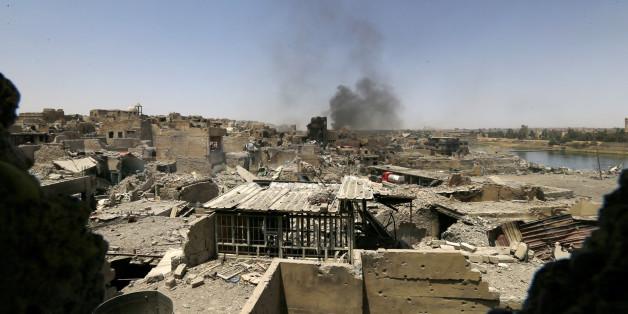 Le 10 juillet, le Premier ministre irakien a annoncé officiellement la victoire de l'armée irakienne à Mossoul