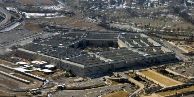 US Defense Department Petagon seen from above
