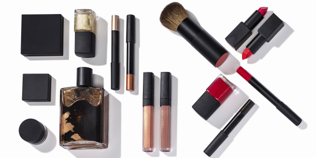 Beauty products isolated on background ( with clipping path)