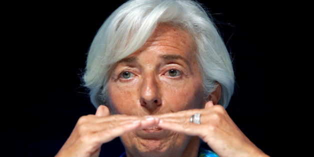 Christine Lagarde, head of the International Monetary Fund (IMF), attends a conference at the Cannes Lions Festival in Cannes, France, June 23, 2017.                 REUTERS/Eric Gaillard