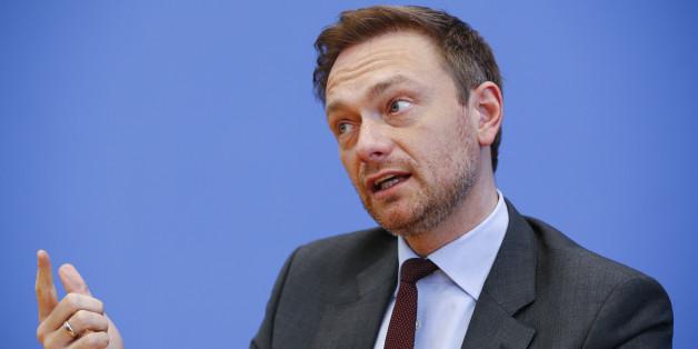 FDP-Chef Christian Lindner kritisert den Zukunftsplan von Martin Schulz scharf
