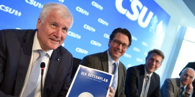 Die CSU hat ihr Wahlprogramm vorgestellt - doch sie Medien streiten sich, was Parteichef Seehofer damit bezwecken will