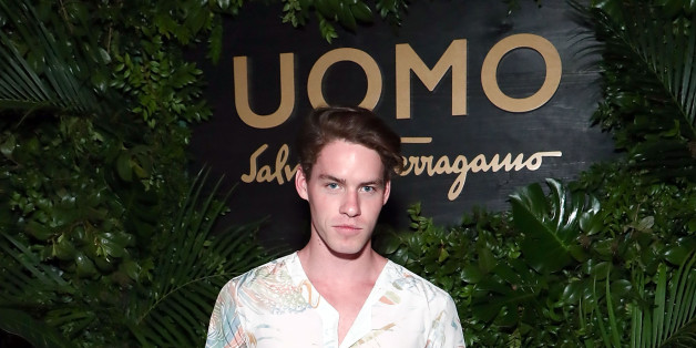NEW YORK, NY - APRIL 26:  Tyler Clinton attends the UOMO Salvatore Ferragamo celebration hosted by Ben Barnes at Rose Bar at Gramercy Park Hotel on April 26, 2017 in New York City.  (Photo by Astrid Stawiarz/Getty Images for Salvatore Ferragamo)
