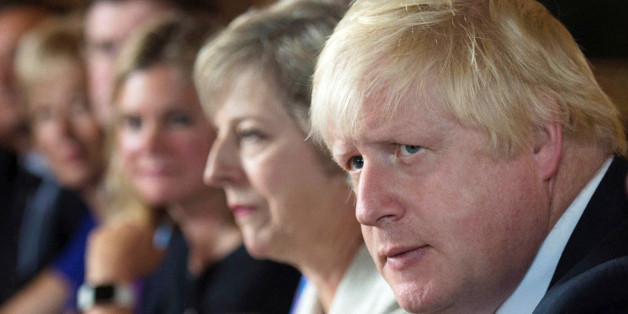 FILE PHOTO - Foreign Secretary Boris Johnson attends a cabinet meeting hosted by Theresa May at the Prime Minister's country retreat Chequers in Buckinghamshire to discuss department-by-department Brexit action plans, Britain August 31, 2016. REUTERS/Stefan Rousseau/Pool/File Photo