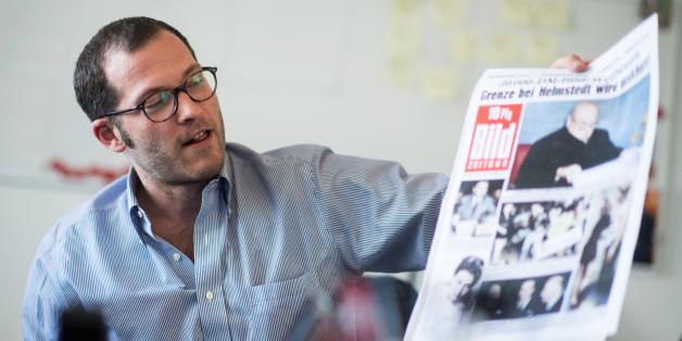 """Die """"Bild""""-Zeitung entwirft ein Wahlprogramm - und bekommt Lob von ungewollter Seite"""