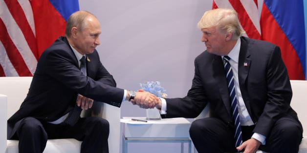 Berichte über Geheimtreffen von Trump und Putin - der US-Präsident findet nichts Verwerfliches daran