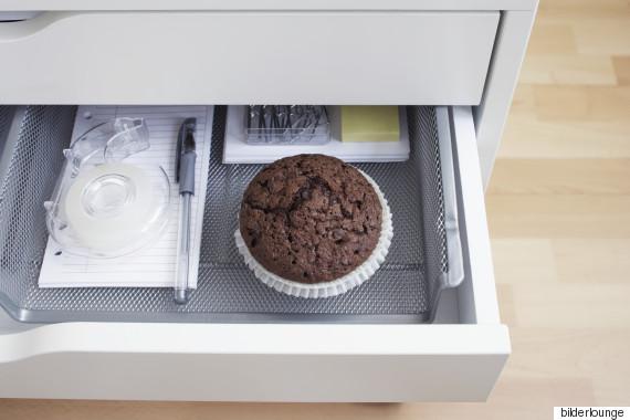 muffin desk
