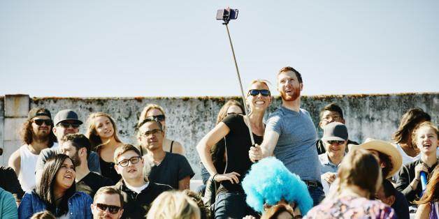 Selfie-Sticks sind eine tolle Erfindung