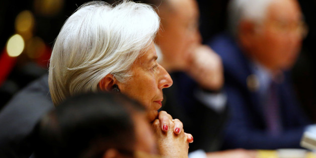 International Monetary Fund (IMF) Managing Director Christine Lagarde attends a summit at the Belt and Road Forum in Beijing, China, May 15, 2017.  REUTERS/Thomas Peter