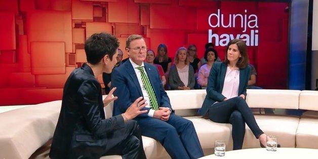 Dunja Hayali bringt FDP-Vize Suding bei einer Frage zur Wohnungsnot ins Stottern