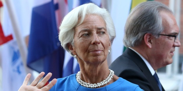 HAMBURG, GERMANY - JULY 07: (RUSSIA OUT) Managing Director of the IMF Christine Lagarde arrives to the Elbphilharmone for the dinner during the G20 Summit on July,7,2017 in Hamburg, Germany. (Photo by Mikhail Svetlov/Getty Images)