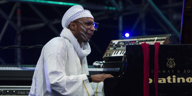 TURIN, ITALY - 2015/06/01: Cuban jazz pianist Omar Sosa performs with his Quarteto Afrocubano at Torino Jazz Festival. (Photo by Marco Destefanis/Pacific Press/LightRocket via Getty Images)